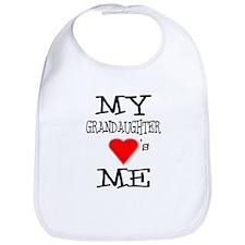 My Grandaughter Loves Me Bib