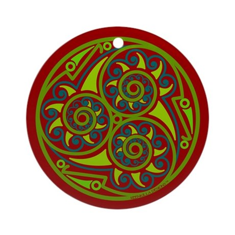 Celtic Mandala Ornament (Round)