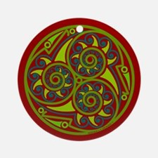 Celtic Mandala Ornament (Round)