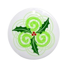 Celt Christmas Ornament (Round)