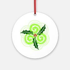 Celt Christmas Ornament (Round)