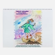 Tarot Artwork by Samantha Kocsis Wall Calendar