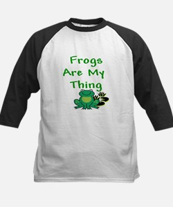 Frogs Are My Thing Baseball Jersey