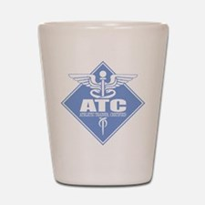 Athletic Trainer Certified Shot Glass