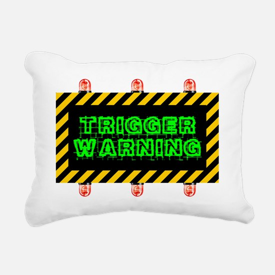 Funny Honesty Rectangular Canvas Pillow