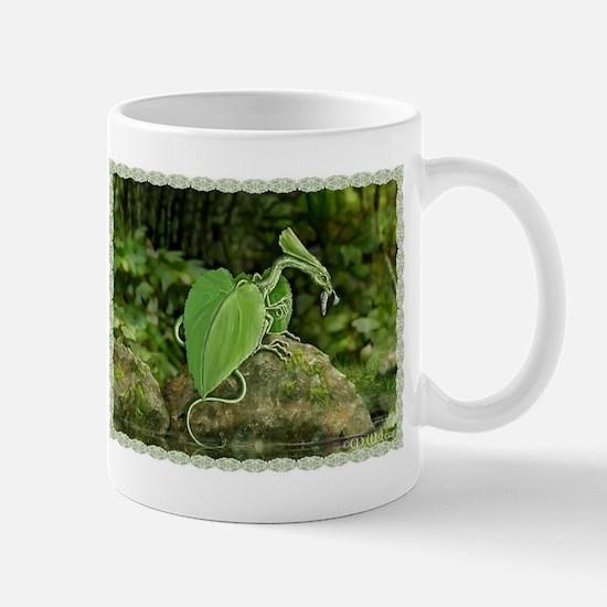 forest leaf dragon Mugs
