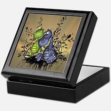 The friends, cute cartoon dragons Keepsake Box