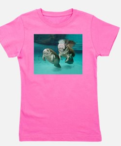 Unique Manatees Girl's Tee