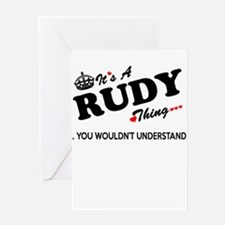 RUDY thing, you wouldn't understand Greeting Cards