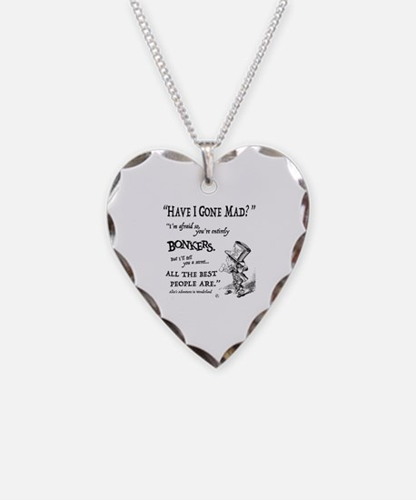 Cute Quote Necklace Heart Charm