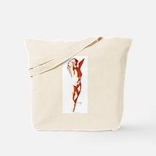Red Dancer Tote Bag