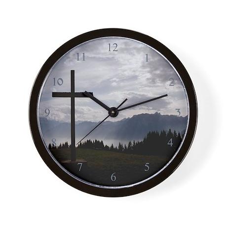 Holy Cross Wall Clock