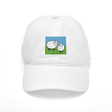 momma sheep baby lamb Baseball Cap