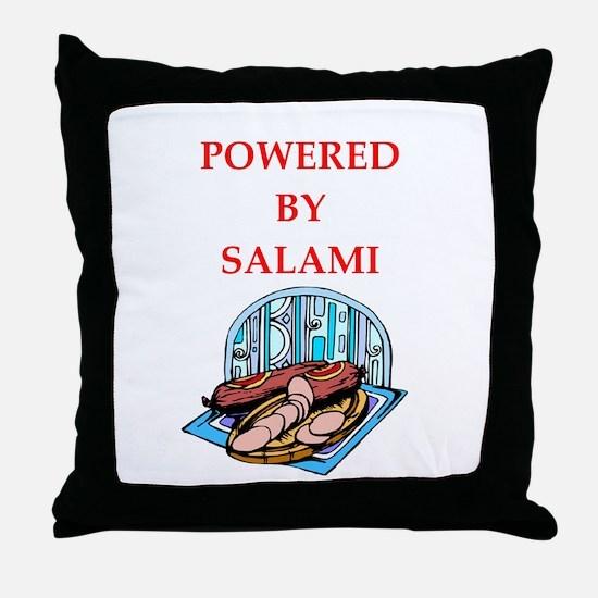 salami Throw Pillow