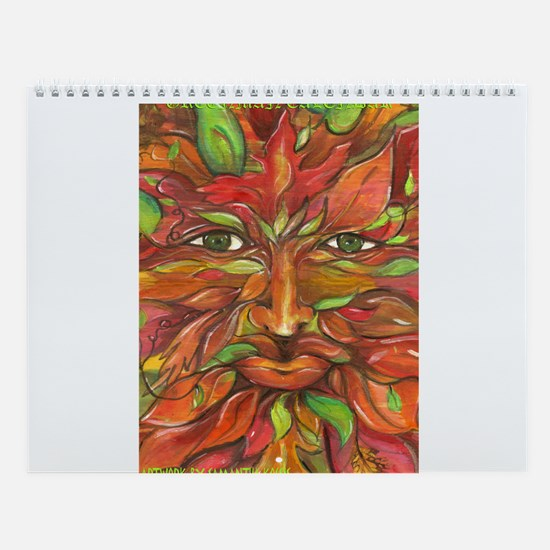 Seasons of the Greenman & Greenwoman Wall Calendar