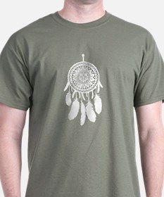 White dream catcher T-Shirt