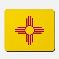 Flag of New Mexico Mousepad