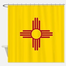 Flag of New Mexico Shower Curtain