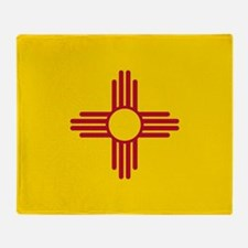 Flag of New Mexico Throw Blanket