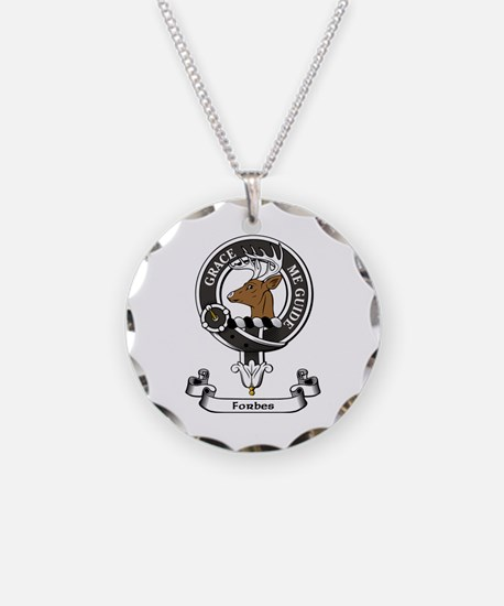 Badge - Forbes Necklace Circle Charm