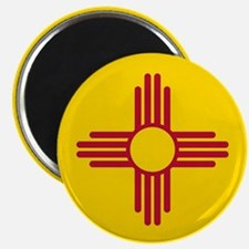 Flag of New Mexico Magnets