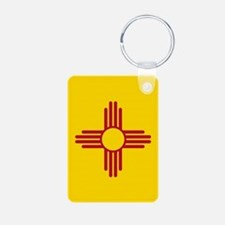 Flag of New Mexico Keychains