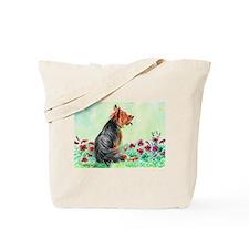 "Australian Terrier ""Gardening"" Tote Bag"