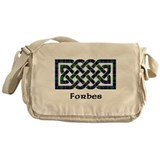 Forbes tartan Messenger Bag