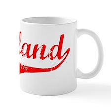 Cleveland Vintage (Red) Small Mug