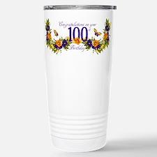 Cute 100th birthday Travel Mug