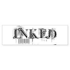 Inked Bumper Bumper Sticker