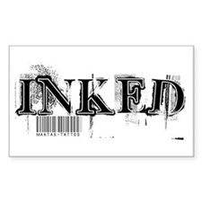 Inked Rectangle Decal