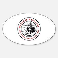 Cute Manitoba Sticker (Oval)