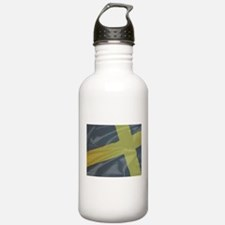 Silk Flag of Saint Dav Water Bottle