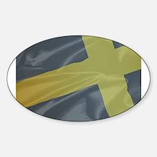 Silk Flag of Saint David Decal