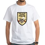 Fort Collins Police White T-Shirt