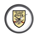 Fort Collins Police Wall Clock