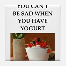yogurt Tile Coaster