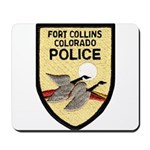 Fort Collins Police Mousepad
