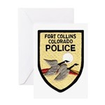 Fort Collins Police Greeting Card