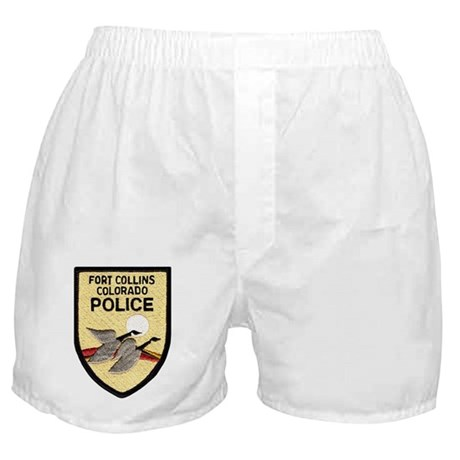 Fort Collins Police Boxer Shorts