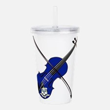 Connecticut State Fidd Acrylic Double-wall Tumbler