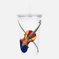 Arizona Fiddle Acrylic Double-wall Tumbler