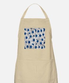 English Daisies Blue Apron
