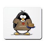 I Love Latkes Penguin Mousepad