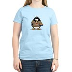 I Love Latkes Penguin Women's Light T-Shirt