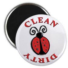 """Ladybug Dishwasher, 2.25"""" Magnet (10 pack)"""