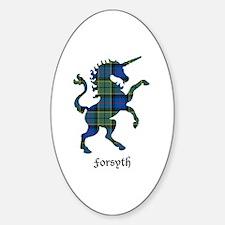 Unicorn - Forsyth Sticker (Oval)