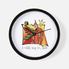 Chili Day Wall Clock