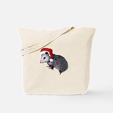 Santa Possum Tote Bag